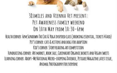 May Family pet awareness day